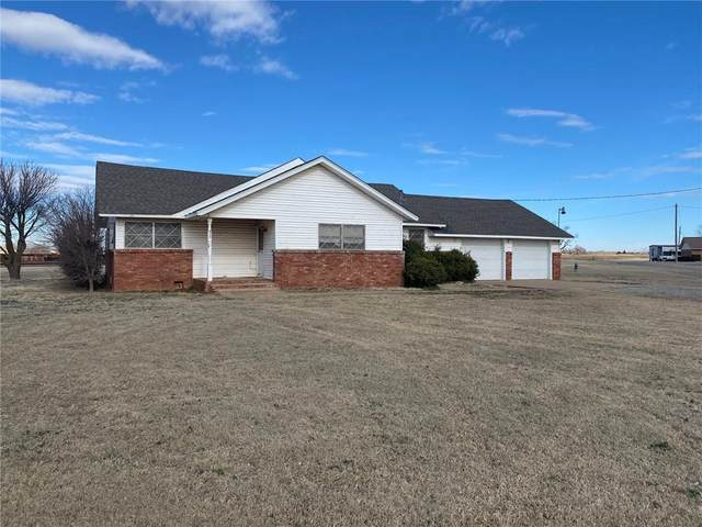 103 Trimble Avenue, Lone Wolf, OK 73655 (MLS #901038) :: Homestead & Co