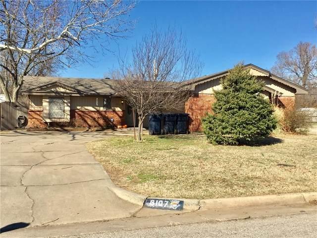 6107 S Hillcrest Drive, Oklahoma City, OK 73159 (MLS #901089) :: Homestead & Co