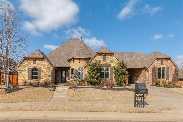 2401 Old Creek Road, Edmond, OK 73034 (MLS #901137) :: Homestead & Co