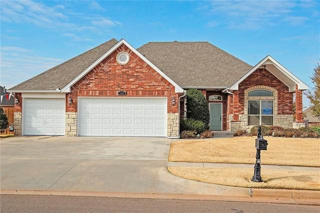 15521 Brook Hill Drive, Edmond, OK 73013 (MLS #901219) :: Keri Gray Homes