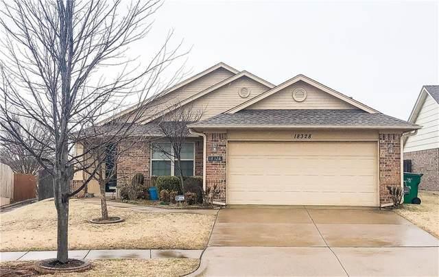 18328 Tambor Drive, Edmond, OK 73012 (MLS #901244) :: The Oklahoma Real Estate Group