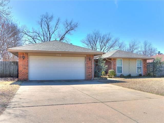 2416 Cypress Court, Edmond, OK 73013 (MLS #901304) :: The Oklahoma Real Estate Group