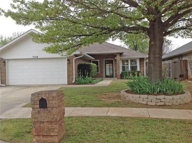 7728 NW 105th Terrace, Oklahoma City, OK 73162 (MLS #901370) :: Homestead & Co