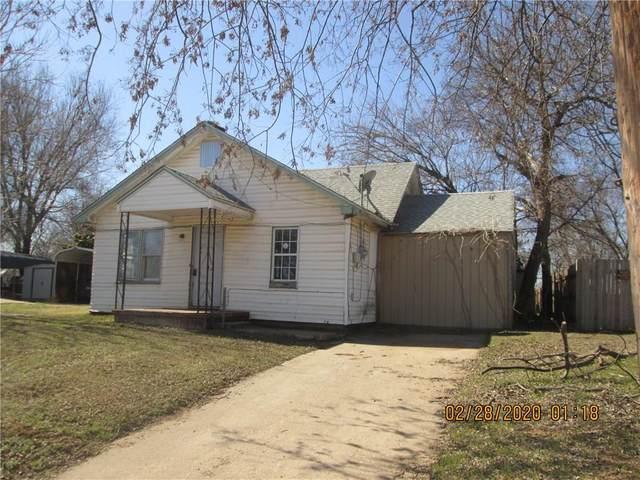 409 S Santa Fe Avenue, Purcell, OK 73080 (MLS #901371) :: Homestead & Co