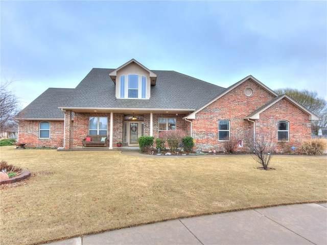 1025 N Charlotte Terrace, Mustang, OK 73064 (MLS #901623) :: Homestead & Co