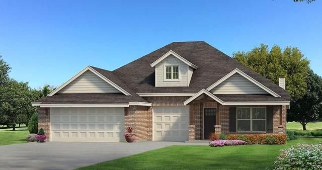 809 Cassandra Lane, Yukon, OK 73099 (MLS #901855) :: Homestead & Co