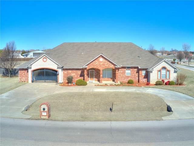 1501 Quail Lake Way, Mustang, OK 73064 (MLS #902260) :: Homestead & Co
