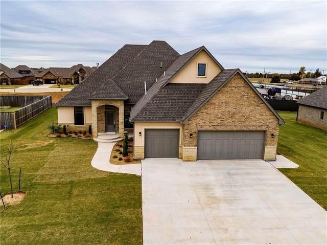 2201 W Beaver Point Drive, Mustang, OK 73064 (MLS #902299) :: Homestead & Co