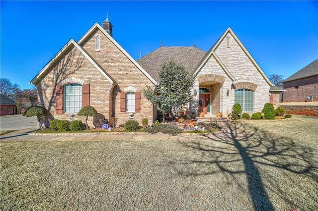 12821 Glen Eagle Drive, Choctaw, OK 73020 (MLS #902447) :: Homestead & Co