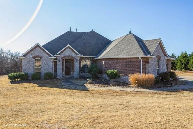 8006 Meaghan Leigh Drive, Edmond, OK 73034 (MLS #902609) :: Homestead & Co