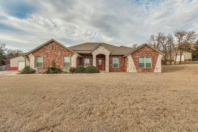 4000 Woodridge Trail, Edmond, OK 73034 (MLS #903368) :: Homestead & Co