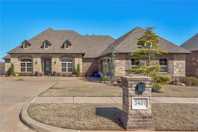 3401 Dornoch Drive, Edmond, OK 73034 (MLS #903823) :: Homestead & Co