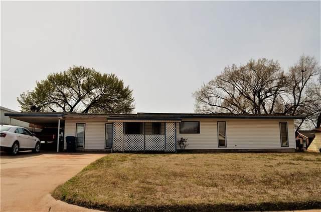706 N West Street, Cordell, OK 73632 (MLS #903839) :: Homestead & Co