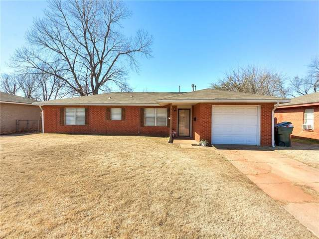 829 E Steed Drive, Midwest City, OK 73110 (MLS #903848) :: Homestead & Co