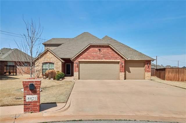 8421 NW 126th Street, Oklahoma City, OK 73142 (MLS #904459) :: Homestead & Co