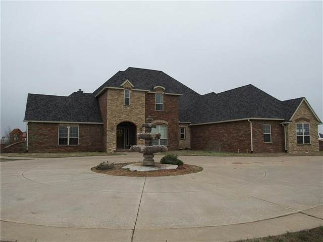 25648 N Indian Meridian Road, Wynnewood, OK 73098 (MLS #904602) :: Homestead & Co