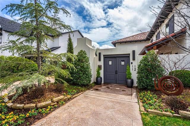 1112 Hemstead Place, Nichols Hills, OK 73116 (MLS #904679) :: Homestead & Co