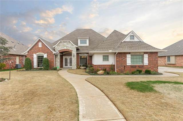 11004 SW Shoreside Drive, Oklahoma City, OK 73170 (MLS #904702) :: Homestead & Co