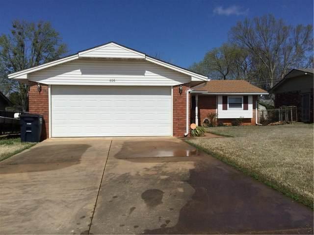 806 E Franklin Street, Shawnee, OK 74804 (MLS #905053) :: Homestead & Co