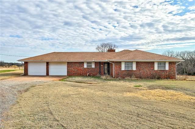 12801 E Highway 105.  80Acres, Guthrie, OK 73044 (MLS #905054) :: Homestead & Co