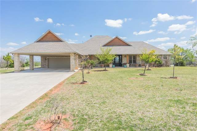 1380 S Dickerson Street, Newcastle, OK 73065 (MLS #905311) :: Homestead & Co