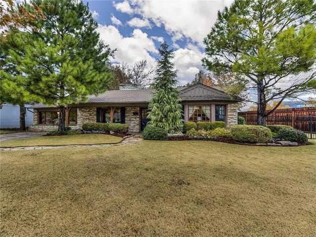 1101 Larchmont Lane, Nichols Hills, OK 73116 (MLS #905411) :: Homestead & Co
