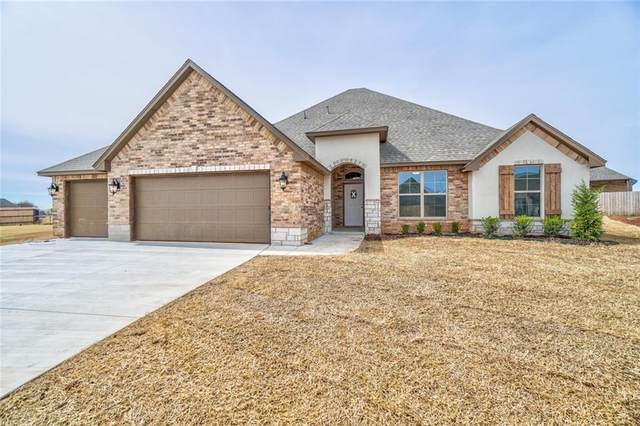 130 NW Hickory Circle, Piedmont, OK 73078 (MLS #905437) :: Homestead & Co
