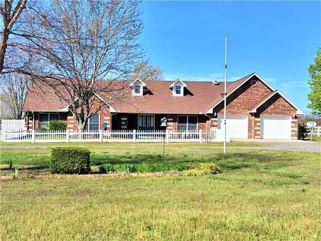 9325 John Amos Road, Noble, OK 73068 (MLS #905459) :: Homestead & Co