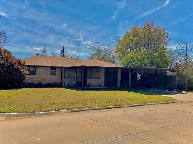 320 W Coe Drive, Midwest City, OK 73110 (MLS #905598) :: Homestead & Co