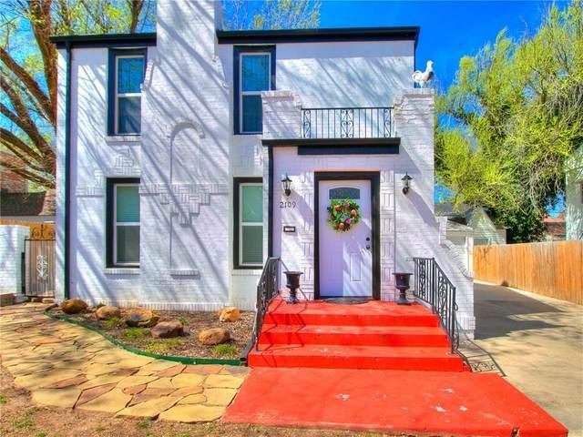 2109 N Florida Avenue, Oklahoma City, OK 73106 (MLS #905636) :: Homestead & Co