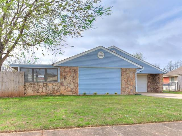908 SE 14th Street, Moore, OK 73160 (MLS #905883) :: Keri Gray Homes