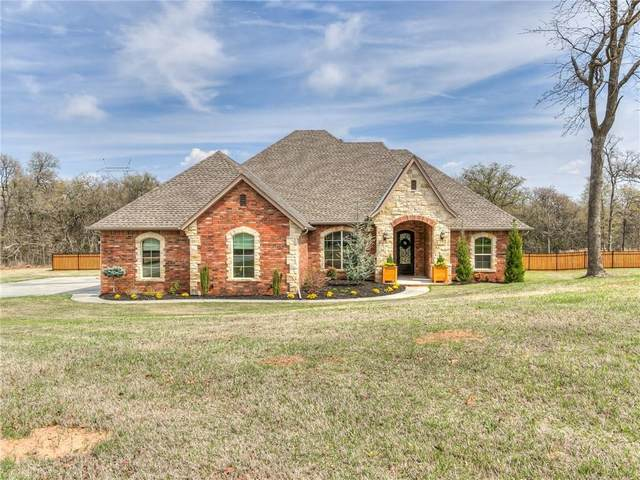 3815 Huntington Parkway, Choctaw, OK 73020 (MLS #905887) :: Homestead & Co