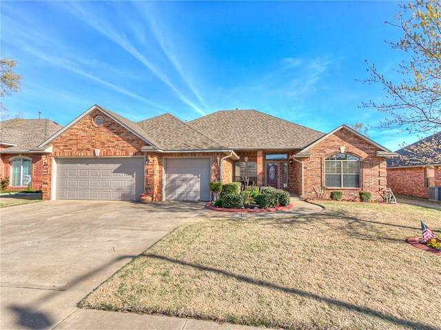1925 Oak Drive, Moore, OK 73170 (MLS #905912) :: Homestead & Co