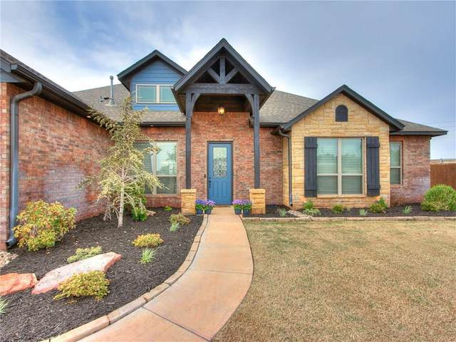 13401 Scenic Circle, Edmond, OK 73025 (MLS #905942) :: Homestead & Co
