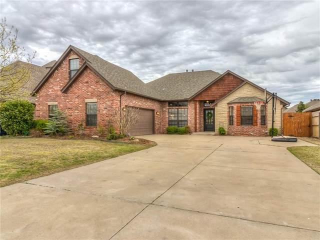 16408 Old Oak Drive, Edmond, OK 73013 (MLS #906131) :: Homestead & Co