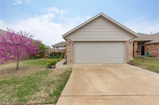 1418 SW 25th Street, Moore, OK 73170 (MLS #906183) :: The Oklahoma Real Estate Group