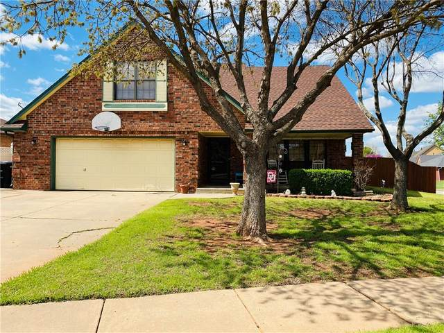 1131 NE 9th Court, Moore, OK 73160 (MLS #906350) :: Erhardt Group at Keller Williams Mulinix OKC