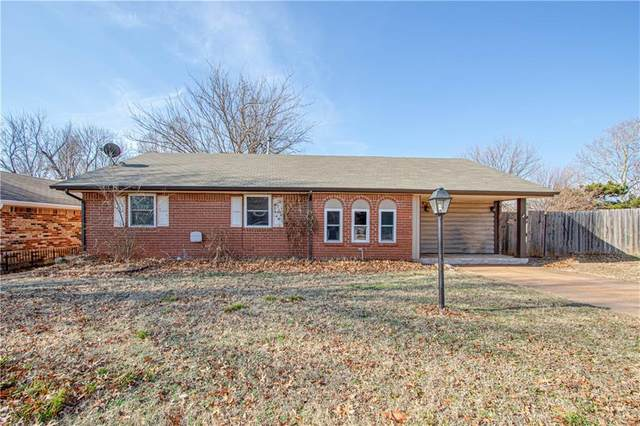 1221 Lauren Lane, Midwest City, OK 73110 (MLS #906474) :: Homestead & Co