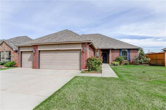 1409 Switchgrass Road, Edmond, OK 73013 (MLS #906564) :: Homestead & Co
