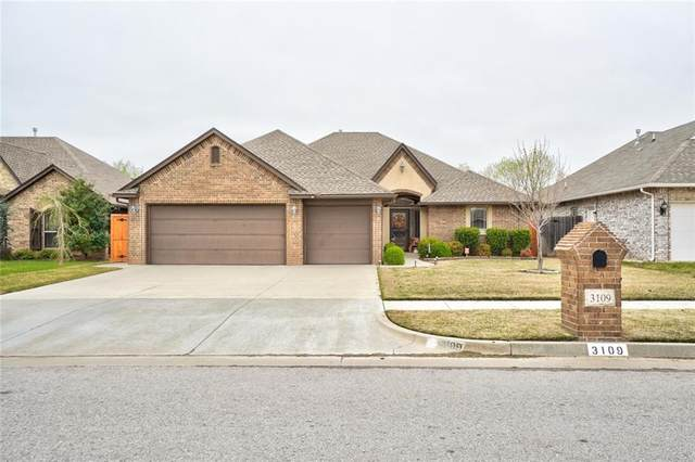 3109 San Juan Trail, Moore, OK 73160 (MLS #906932) :: Keri Gray Homes