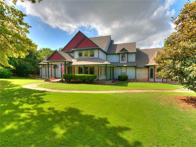 2504 Southbend Road, Edmond, OK 73034 (MLS #906943) :: Homestead & Co