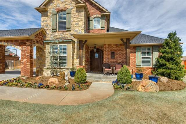 13120 Rock Canyon Road, Oklahoma City, OK 73142 (MLS #907834) :: Homestead & Co