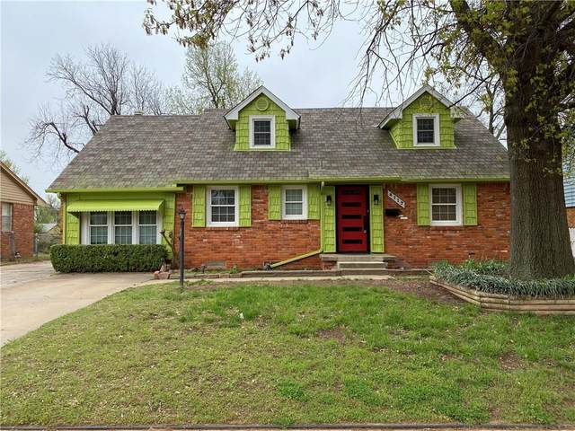 4112 N Barr Avenue, Oklahoma City, OK 73122 (MLS #908049) :: Homestead & Co