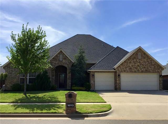 16113 Scissortail Drive, Edmond, OK 73013 (MLS #909461) :: Homestead & Co