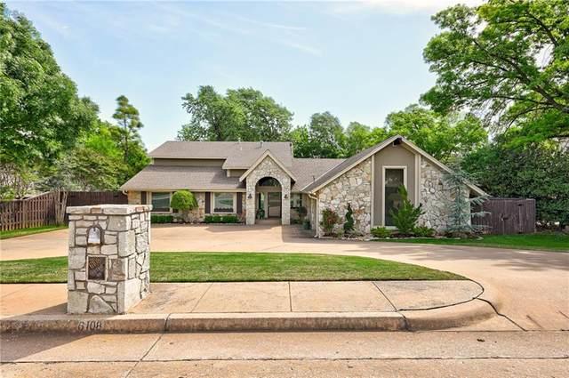 6108 Oak Tree Road, Edmond, OK 73025 (MLS #910263) :: Homestead & Co