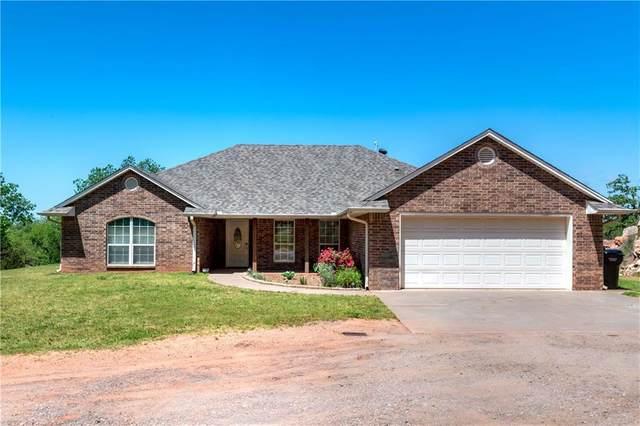 900869 S Oak Hill Drive, Chandler, OK 74834 (MLS #910321) :: Homestead & Co