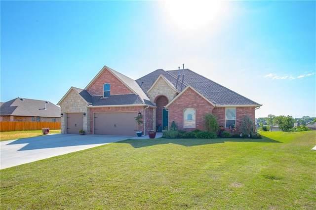 2586 Shady Hollow Drive, Choctaw, OK 73020 (MLS #910328) :: Homestead & Co
