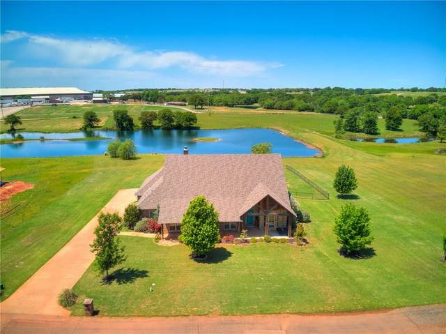9505 E Bear Creek Road, Guthrie, OK 73044 (MLS #910447) :: Homestead & Co