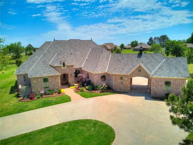1601 N Dobbs Road, Harrah, OK 73045 (MLS #911052) :: Homestead & Co