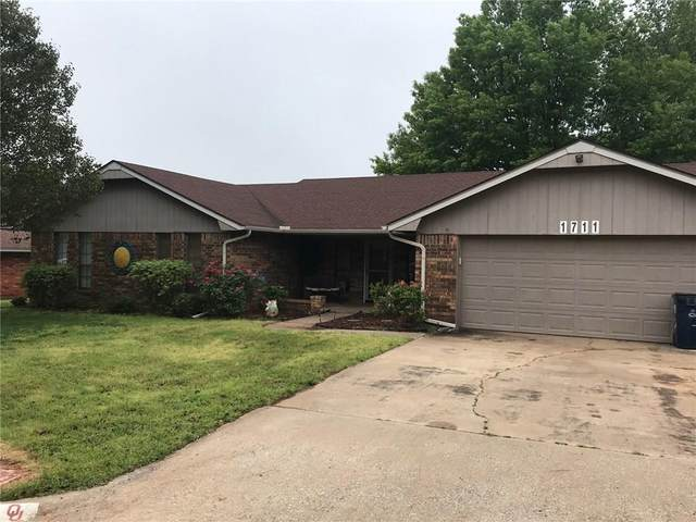1711 Anthony Avenue, Purcell, OK 73080 (MLS #911249) :: Erhardt Group at Keller Williams Mulinix OKC
